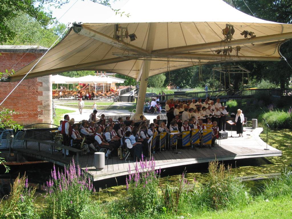 Musikverein Meßhofen Glacis Park Neu-Ulm